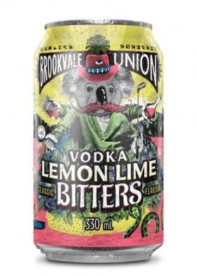 Brookvale Union Vodka Lemon Lime Bitter Cans