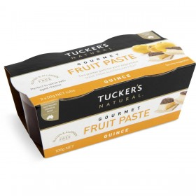 Tuckers Fruit Paste Quince 100gr Twin Pk