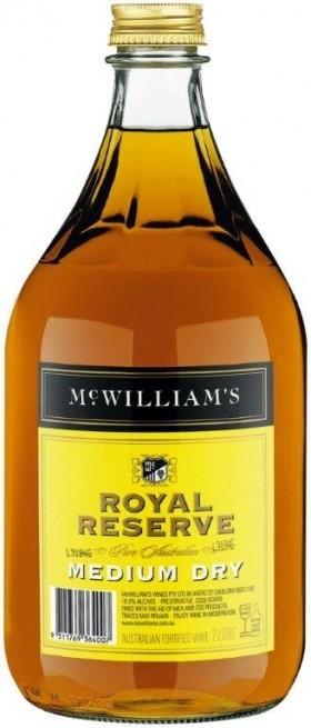 Mcwilliams Royal Reserve Medium Dry Apera 2lt