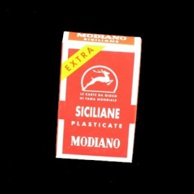 Modiano Siciliane Playing Cards