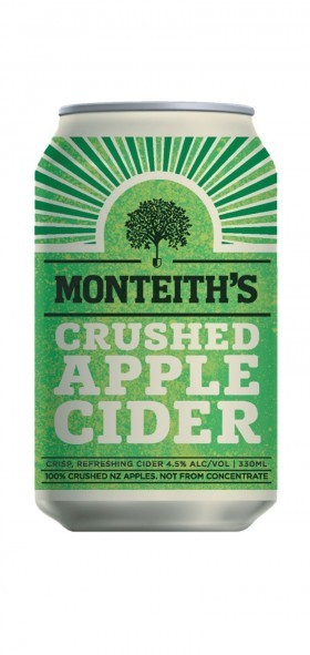 Monteiths Apple 10 Pack Can