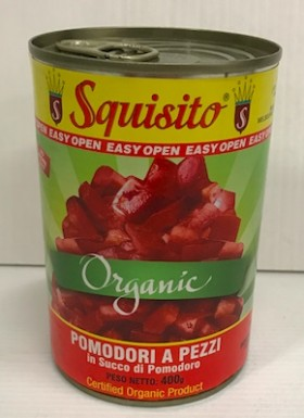 Squisito Organic Diced Tomatoes 400g