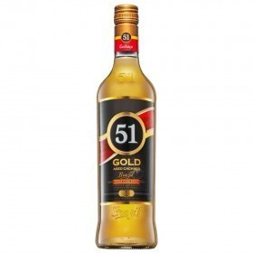 Cachaca 51 Gold 700ml
