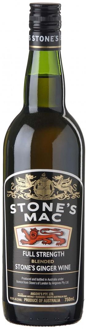 Stones Mac Ginger Wine 750ml