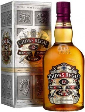 Chivas Regal Scotch Whisky 700ml 12yr Old