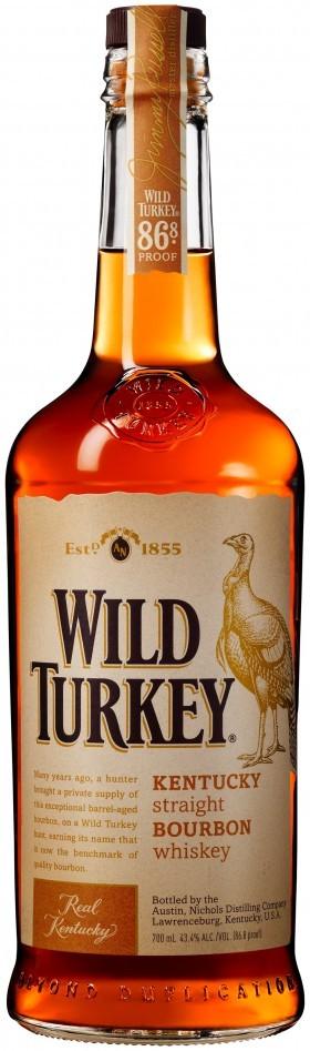 Wild Turkey Bourbon 86.8
