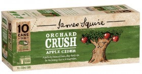 James Squire Apple Cider Crush 10 Pack Cans