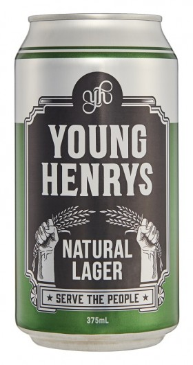 Young Henrys Natural Lager Cans