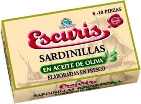 Escuris Sardines In Olive Oil 115gm