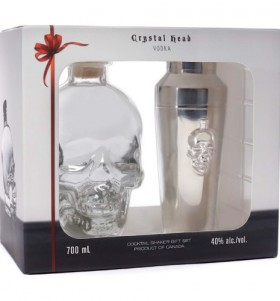 Crystal Head Vodka With Shaker