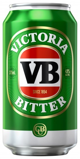 Victoria Bitter Cans 30 Pack
