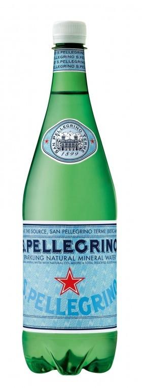 San Pellegrino Sparkling Water 1 L Plastic
