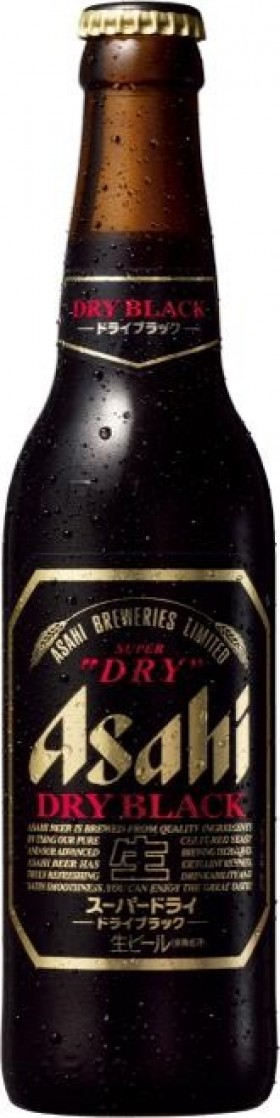 Asahi Super Dry 5.5 Percent Black 334ml Btt