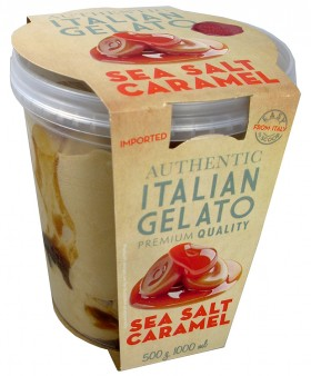 Italian Gelato Sea Salt Caramel 1lt
