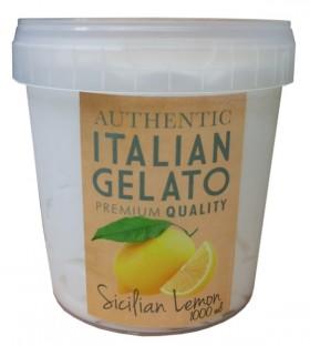 Italian Gelato 1lt Sicilian Lemon