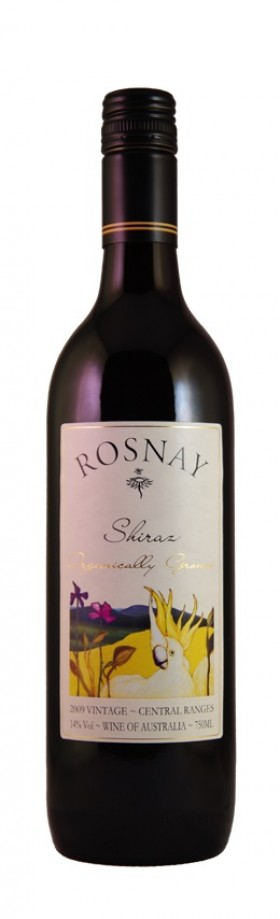 Rosnay Shiraz Organic Free Low Sulphite