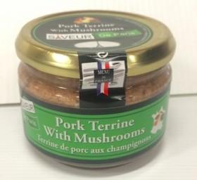 Saveur De Paris Pork Terrine With Mushrooms