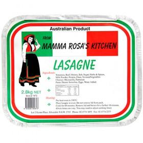 Mamma Rosa 2.8kg Lasagna Beef