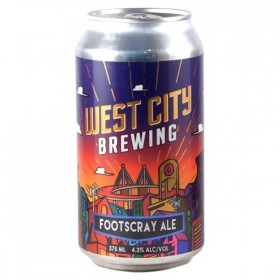 West City Footscray Ale Cans 375ml