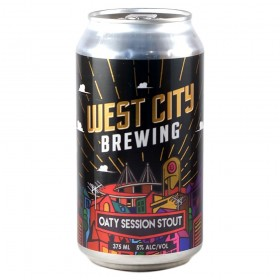 West City Oaty Session Stout Cans 375ml