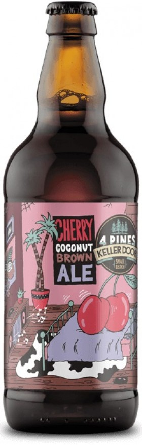 Four Pines Coconut Cherry Brown Ale 500ml