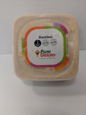 Pure Gelato Hazelnut 1lt