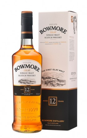 Bowmore Single Malt 12year Old Scotch Whisky