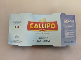 Callipo Tuna In Water 160gm 2pk