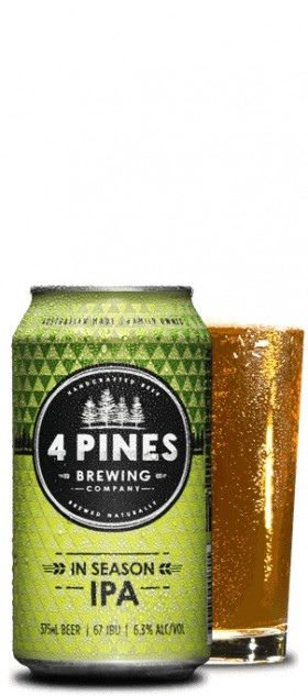 Four Pines In Season Ipa Cans