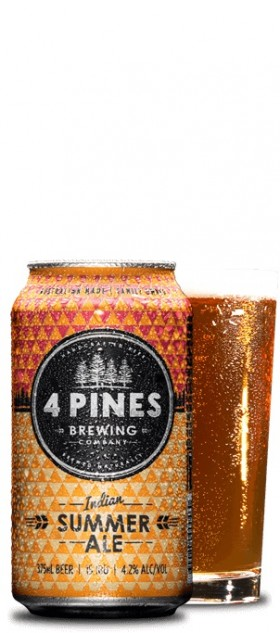 Four Pines Indian Summer Pale Ale Cans