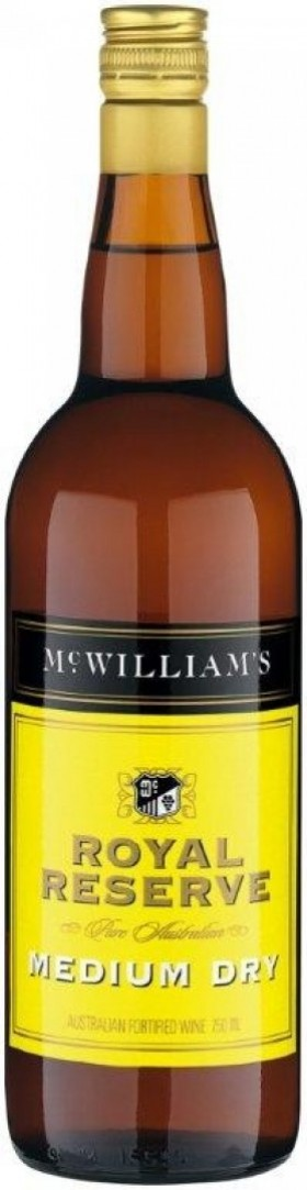 Mcwilliams Royal Res Medium Dry Apera 750ml