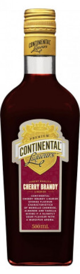 Continental Cherry Brandy Liqueur 500ml