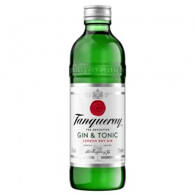 Tanqueray and Tonic Bottles 275ml
