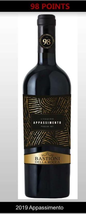 Piccini Bastioni Rocca Appassimento - Puglia Wine Offer