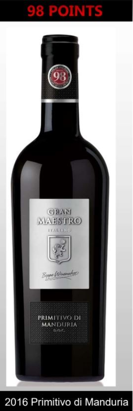 Cielo Gran Maestro Primitivo Di Manduria - Puglia Wine Offer