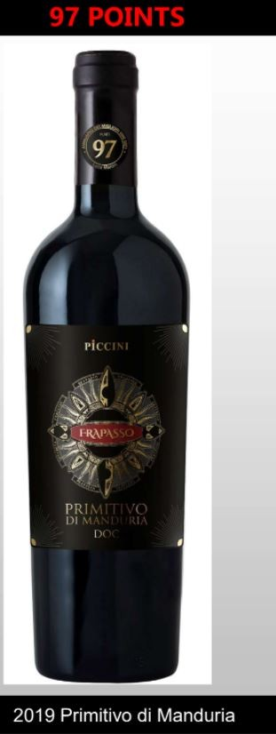 Piccini Primitivo Frapasso Di Manduria  - Puglia Wine Offer