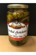 Bella Contadina Grilled Artichokes In Ex/v/o/oil