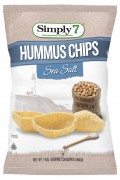Hummus Sea Salt Chips 142g