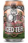 Brookvale Union Vodka And Peach Iced Tea Cans