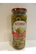 Acorsa Green Pitted Olives 350g Jar