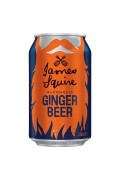 James Squire Alc Ginger Beer 330ml Cans