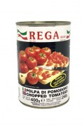 Rega Diced Tomatoes In Tins 400gr