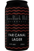 Iron Bark Far Canal Lager Cans 375ml