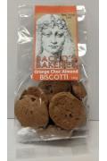 Baccos Orange Choc Almond Biscotti 140gr