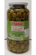 Framar Pitted Green Olives 900gr