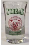 Glass Cougar Shot