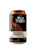 Wild Turkey and Cola Cans 375ml
