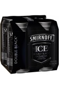 Smirnoff Ice Double Black Cans 375ml
