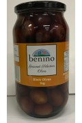 Benino Black Mammoth Olives 1kg