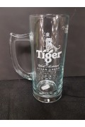 Glass B-w Tiger Beer Mug